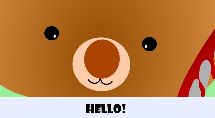 cutest bear in the world.