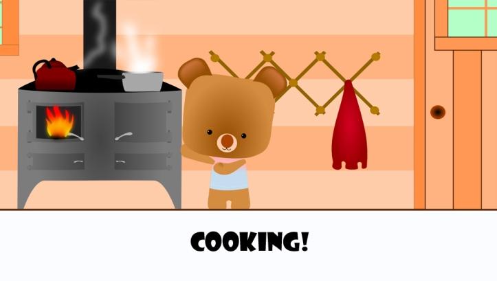 cute bear cooking2