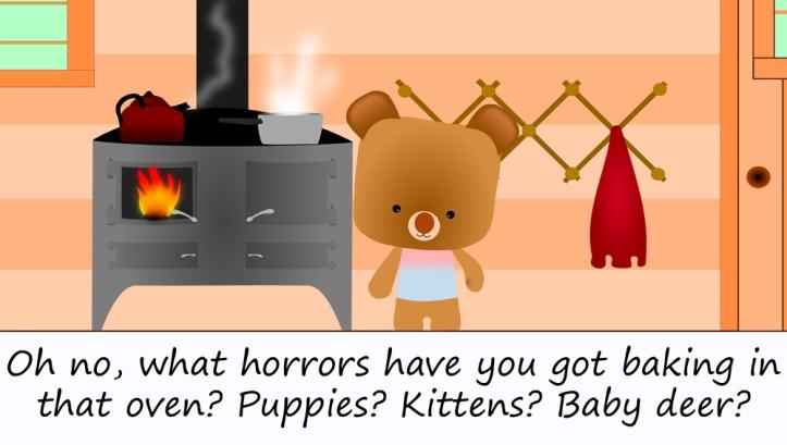 cute bear cooking3