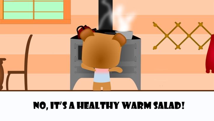 cute bear cooking4