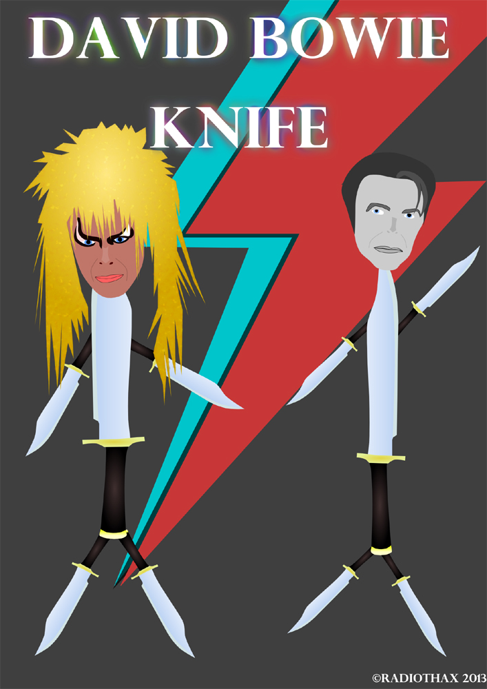 David Bowie knife