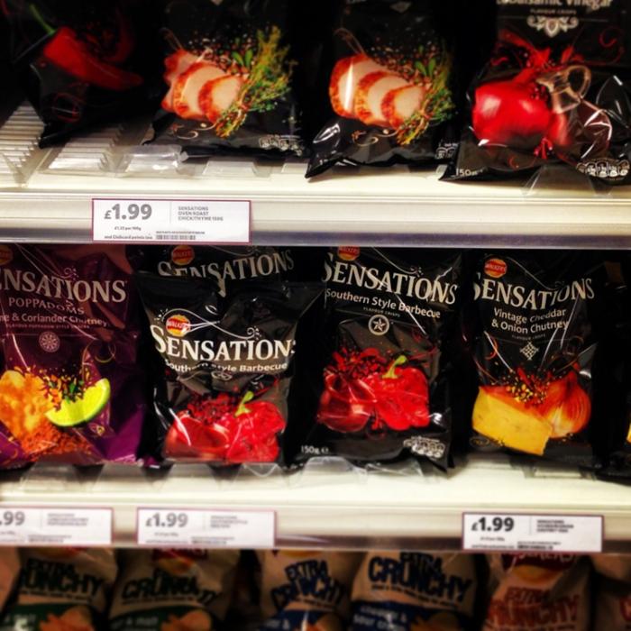 Begone vile tasting non salt and pepper crisps!