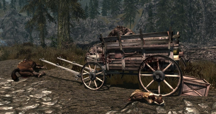 Murder on the Skyrim express