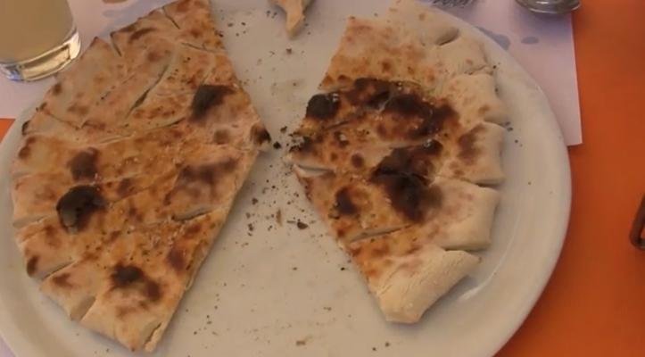 Burnt oily 'garlic' offerring