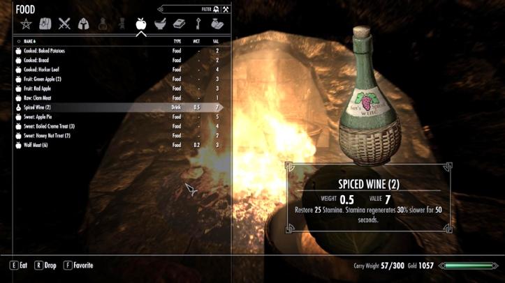 A booze, my true friend!