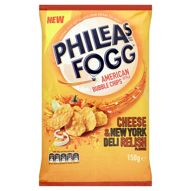 Phileas Fogg bubble crisps