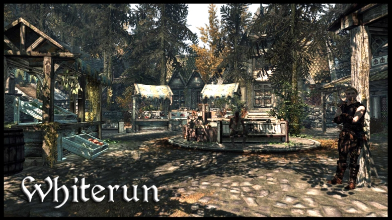 It's nice in Whiterun